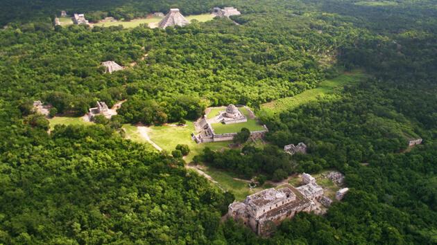 Chichen Itza Tour From Playa del Carmen Aerial